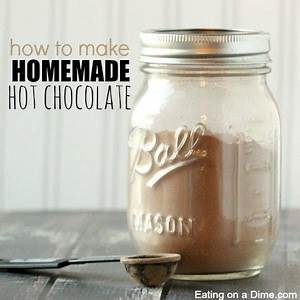 Easy Homemade Hot Chocolate Mix - Eating on a Dime