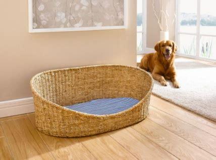 kissen für hundekorb hundekorb aus maisstroh mit kissen 100x60 hundebett hundesofa tierbett tiersofa kaufen bei