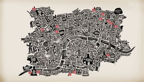 10 best typography maps typostrate