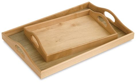 Wooden Trays  Blick Art Materials