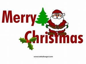 Merry Christmas: scritta da stampare - TuttoDisegni.com