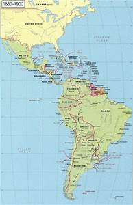 Outline Map Of South America Maps World Map 1850