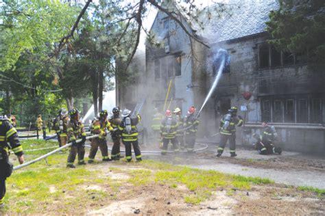 lake grove school razed firenewscom
