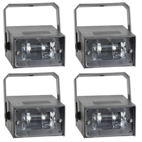 vei battery operated 20 watt mini led strobe light 4 pack