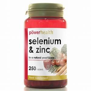 Power Health Selenium  U0026 Zinc