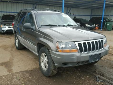 totaled jeep grand cherokee salvage jeep grand cherokee suvs for sale and auction