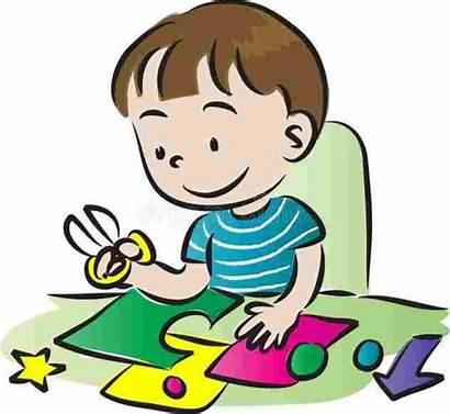 Craft Clipart Making Crafts Children Illustration Arts