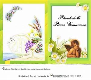 Biglietti Ringraziamento Prima Comunione E Cresima