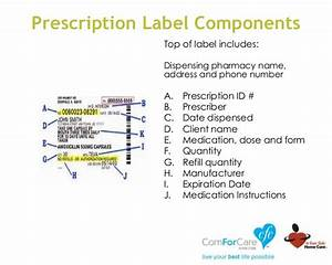 medication errors With federal prescription label requirements