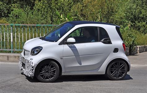 2018 Smart Fortwo Brabus Spotted In Production Guise
