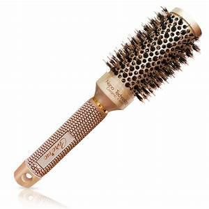 Boar Hair Brush For Hair Dryer
