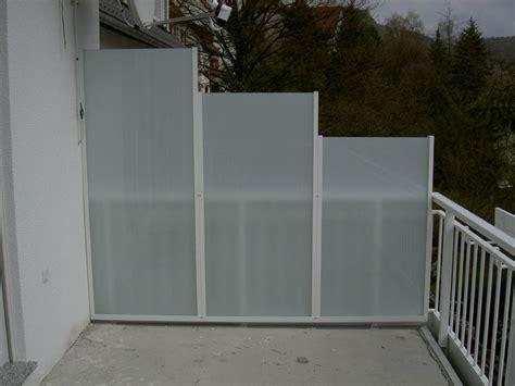 windschutz glas balkon balkon sichtschutz aus glas 1952 gt balkon sichtschutz aus