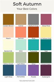 Soft Autumn Color Palette