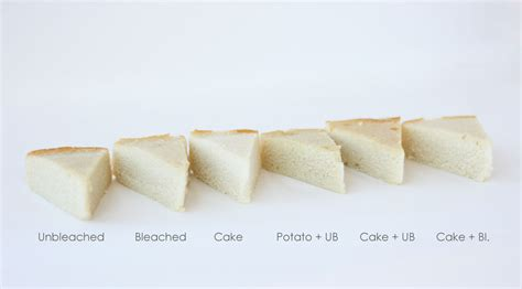 bleached vs unbleached flour how different flours affect your cake cake paper party