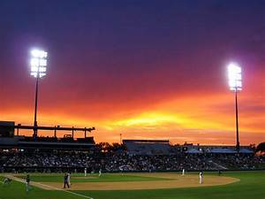 Baseball Sunset | baseball