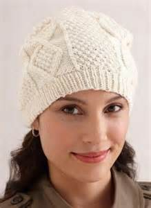 Free Aran Hat Knitting Pattern