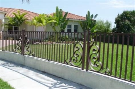rolling calm fencing wrought iron fencing aluminum fencing