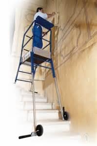 Location Echafaudage Escalier by Plateforme D Escalier Helis Tubesca Comabi Reglable