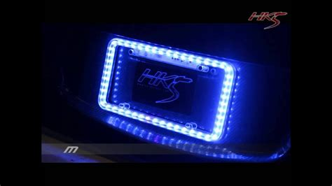 Are Blue Led License Plate Lights Illegal In Texas