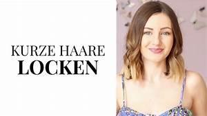 Locken Für Kurze Haare : locken mit dem gl tteisen kurze haare locken schnell einfach redgyloves youtube ~ Frokenaadalensverden.com Haus und Dekorationen