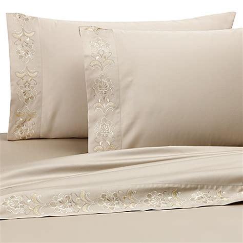 queen  york medici california king sheet set bed