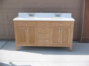 Cherry Bath Vanity - 60 inch - buildsomething com