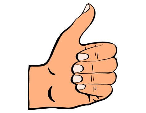 Thumbs Clipart Clipart Thumbs Up Silhouette Gclipart