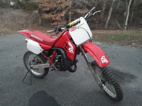 amazing honda c 1988 honda cr125 amazing for its age r c tech forums