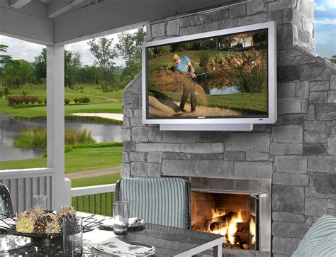 outdoor tv for your patio automated lifestyles