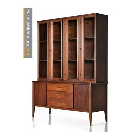 display kitchen cabinets for mid century modern broyhill saga china cabinet 8740