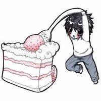 Chibi L, Eating Cake Pictures, Images & Photos | Photobucket