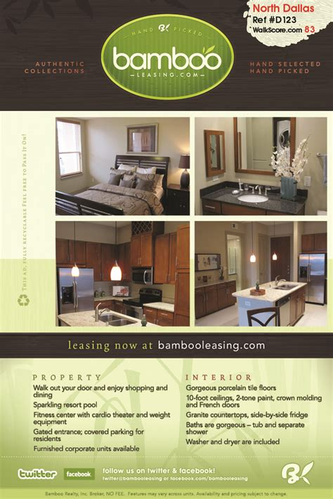 Apartment Leasing Dallas Tx by View All Dallas Rental Listings 187 Bamboo Leasing