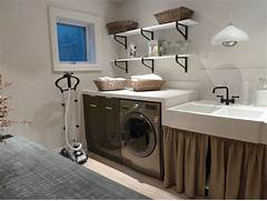 Basement Laundry Room Interior Remodel Appearance For Outstanding Laundry Room Design And Decorating Ideas 14