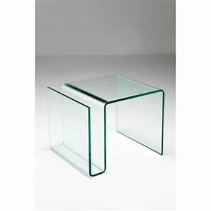 Glas Online Bestellen Günstig : bijzettafel glas clear club n bestellen ~ Indierocktalk.com Haus und Dekorationen