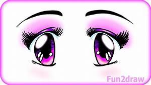 Cute & Easy Manga - How to Draw Beautiful Eyes - Manga ...