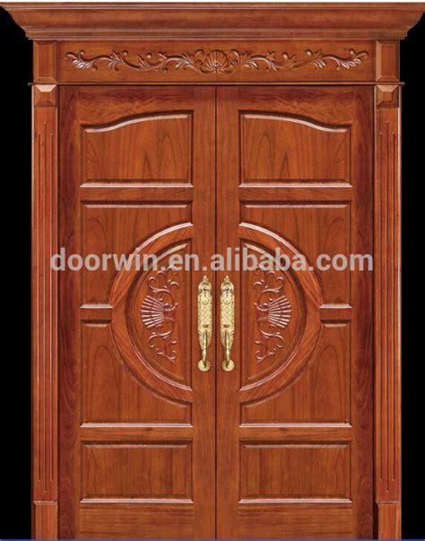 Exterior Main Door Carved Solid Wood Double Door Designs