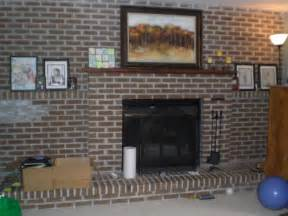 Cheapest Place For Kitchen Cabinets by Diy Decor Brick Fireplace Makeover