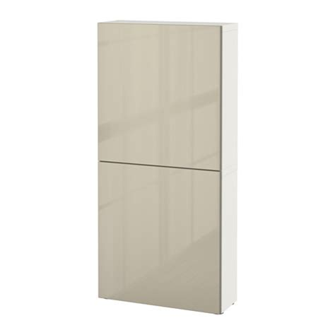 high gloss white cabinet doors bestå wall cabinet with 2 doors white selsviken high