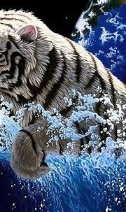 Blue Tiger Wallpapers - Top Free Blue Tiger Backgrounds ...