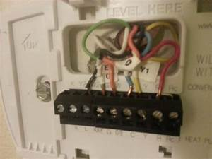 New Thermostat Worked Fine Then Burning Smell And No Ac