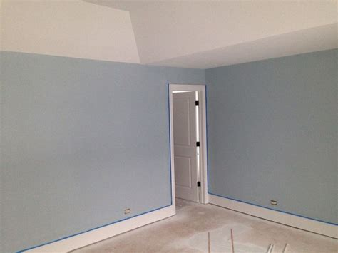 sleepy blue sherwin williams paint and granite colors