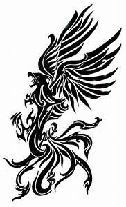 tattoo dark knight: tattoo design phoenix tribal desings