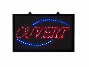 Tableau Lumineux Message : tableau led avec message ouvert ~ Teatrodelosmanantiales.com Idées de Décoration