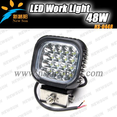 sale led work light high power 48w for jeep truck
