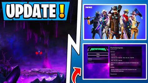 fortnite update dark realm portal halloween