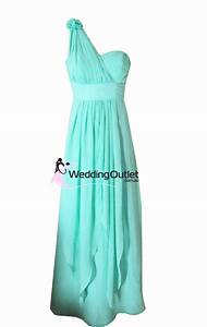 Aqua Bridesmaid Dress Style #C103 - WeddingOutlet.com.au