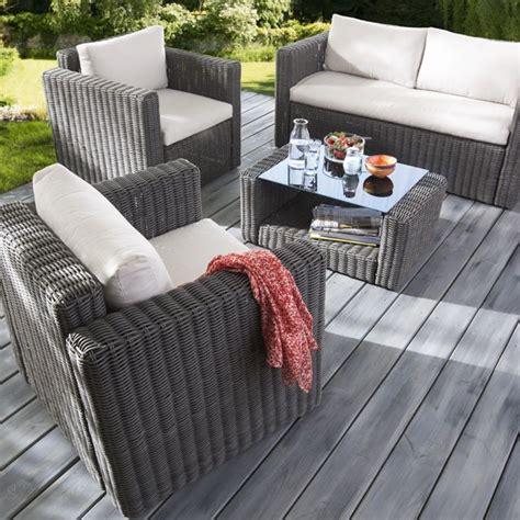 canapé de jardin castorama salon de jardin castorama achat salon palmas 1 sofa 2