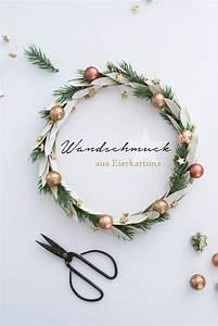 Weihnachtskranz Für Tür : kreativ adventskalender t rchen 6 weihnachtskranz aus eierkarton sinnenrausch der ~ Bigdaddyawards.com Haus und Dekorationen