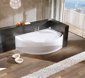 Baignoire D Angle Asymétrique : baignoire d 39 angle asymtrique vogue ~ Dailycaller-alerts.com Idées de Décoration