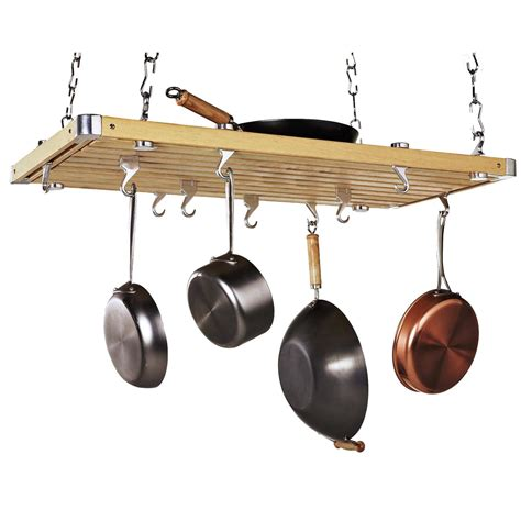 Wood Rectangular Ceiling Kitchen Pot Rack  Pot Racks At. On Line Kitchen Design. Designer Kitchens Images. Kitchen With Dining Room Designs. Kitchen Design Adelaide. Kitchen Design Leicester. Latest Modern Kitchen Design. Kitchen Design Edinburgh. Blue Kitchen Designs